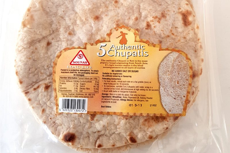 Authentic Chupatis